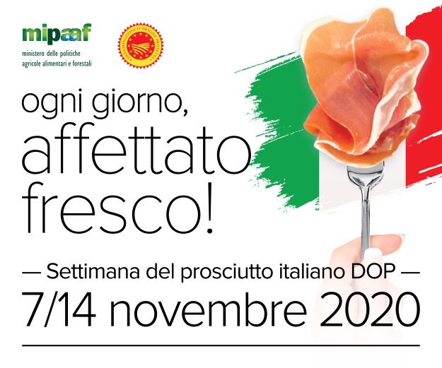 Valorizzazione della filiera suinicola italiana Dal 7 al 14 novembre scegli i prosciutti DOP nella tua gastronomia di fiducia