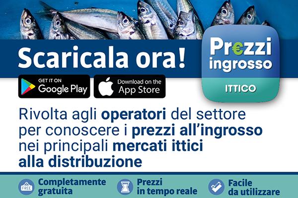 App prezzi ingrosso ittico